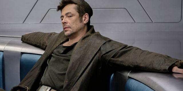 Primera imagen de Benicio Del Toro en Star Wars: Los últimos Jedi