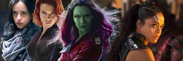 En marcha una película con todas las heroínas del Universo Marvel