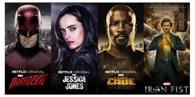 ¿Por qué las series Marvel de Netflix son un fracaso?
