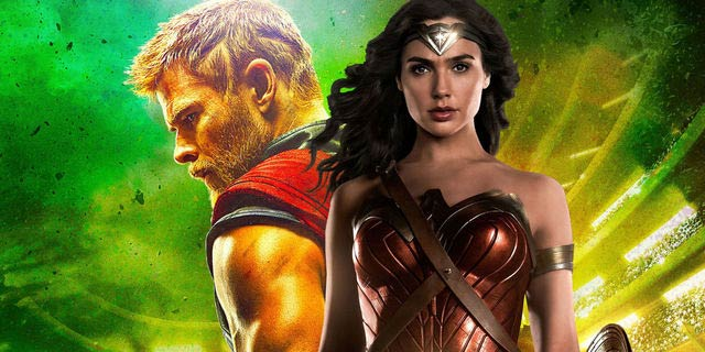 La increíble trolleada de Marvel contra Wonder Woman con Thor Ragnarok
