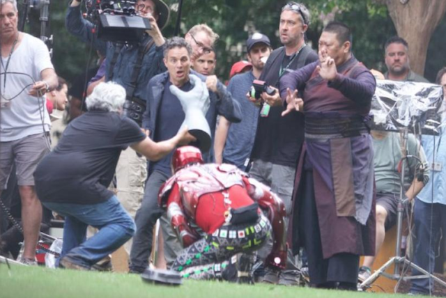 Bruce Banner y Hulk separados en Infinity War