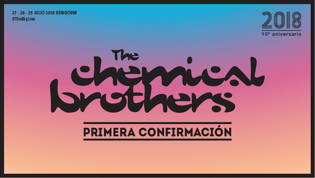 The Chemical Brothers primera confirmación del Low 2018
