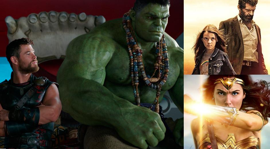 'Thor: Ragnarok', 'Logan' y 'Wonder Woman' nominadas como mejor película del año