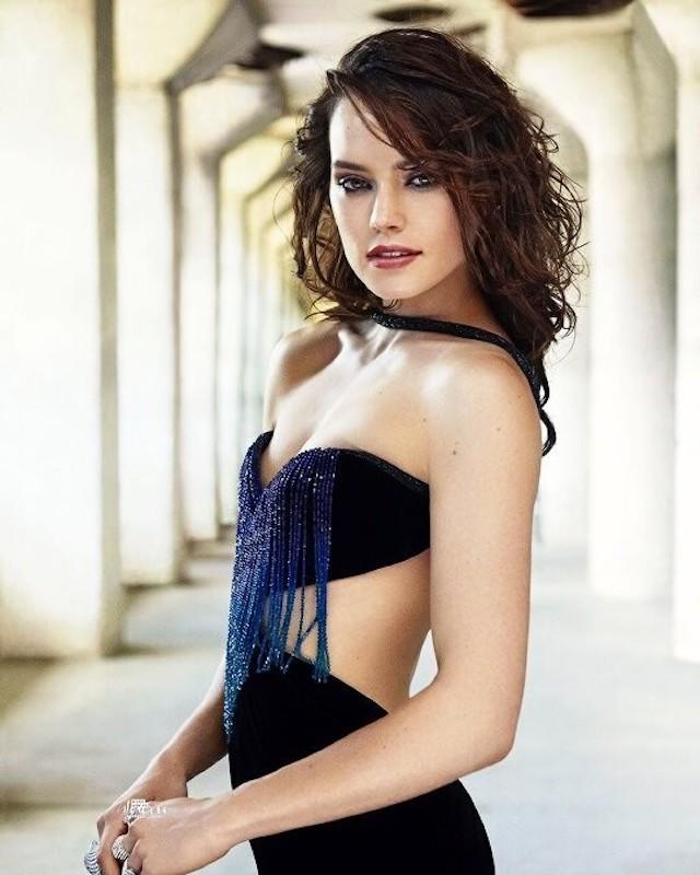 Daisy Ridley Desnuda El Secreto De La Galaxia Al Descubierto Cultture