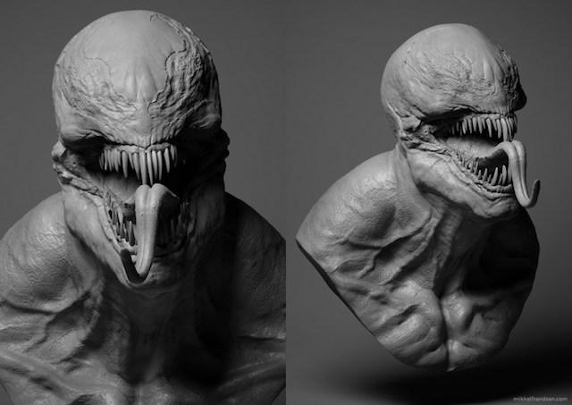 Oficial: la primera imagen de Venom da mucho miedo
