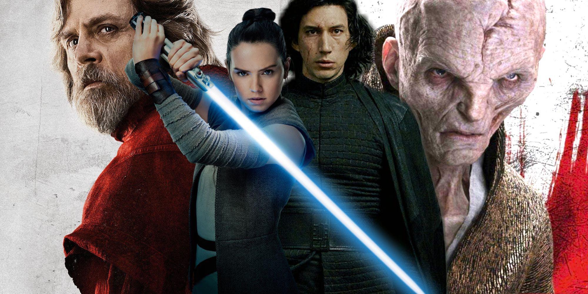 Los 10 mejores personajes de 'Star Wars: Los Últimos Jedi'