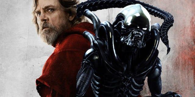 Disney no deja de sorprender: Star Wars y Alien, el crossover inesperado