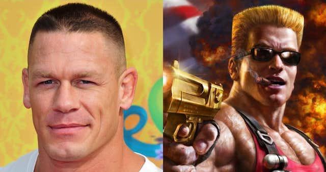 John Cena será Duke Nukem