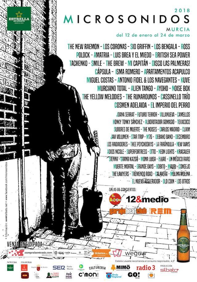 Microsonidos Murcia arranca con un espectacular cartel