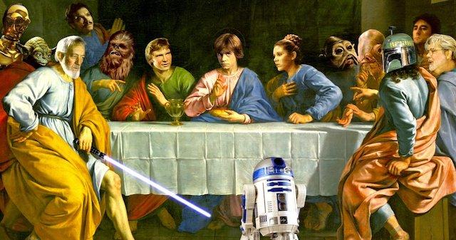 La iglesia católica condena Star Wars y sus fans