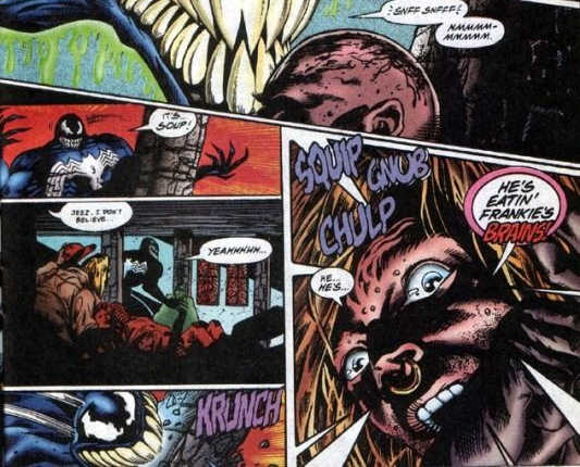 Las 5 mejores mejores historias de Venom, Veneno en los comics