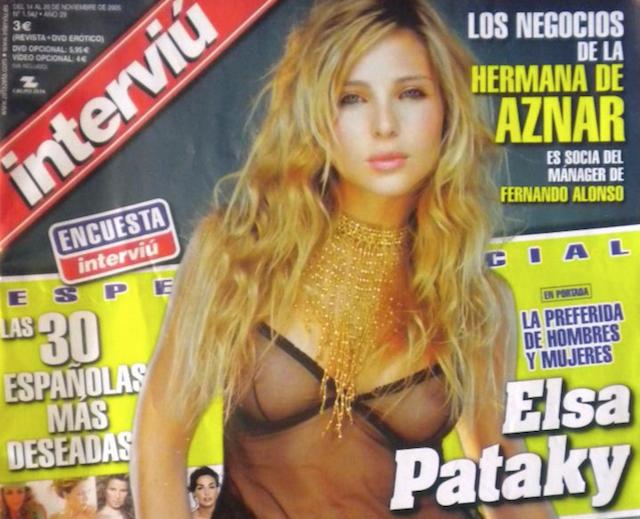 Famosas Desnudas Nos Despedimos De Interviú Iniciación Sexual A La