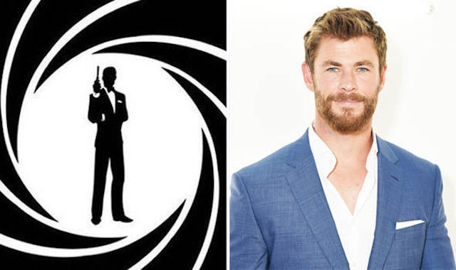 ¿Chris Hemsworth nuevo James Bond?