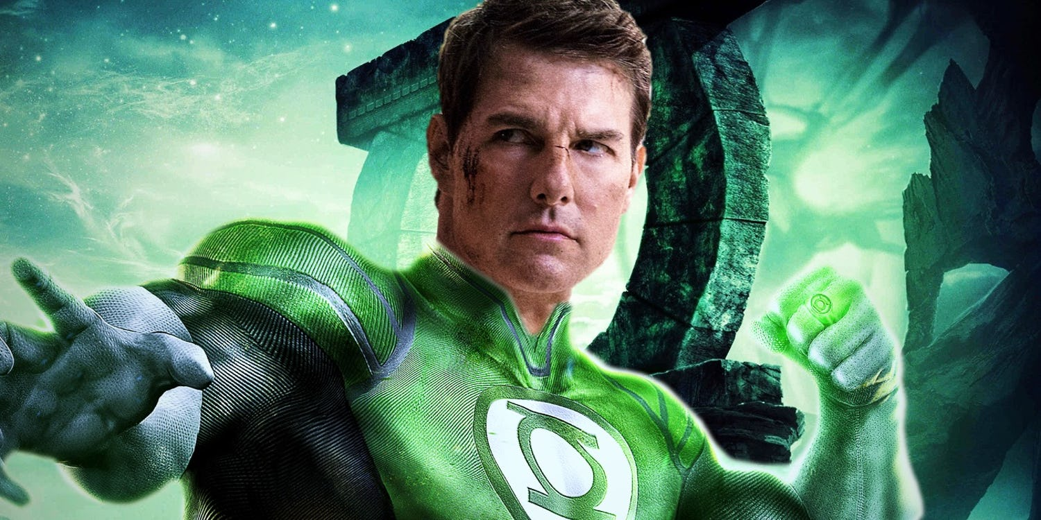 ¡Tom Cruise será Green Lantern!