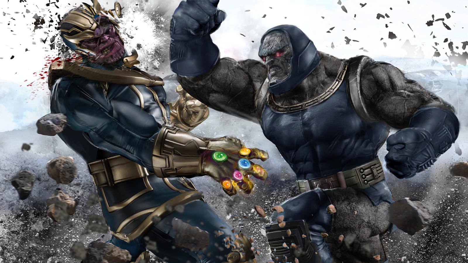 5 Villanos Marvel Que Acabarían Con Thanos Y Otros Tres No Marvel