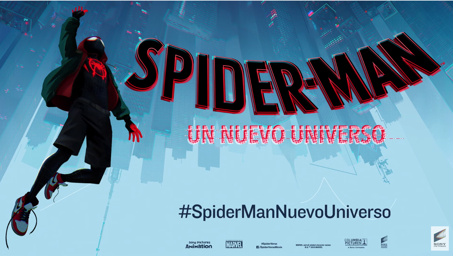 Espectacular Trailer De Spider Man Un Nuevo Universo Cultture