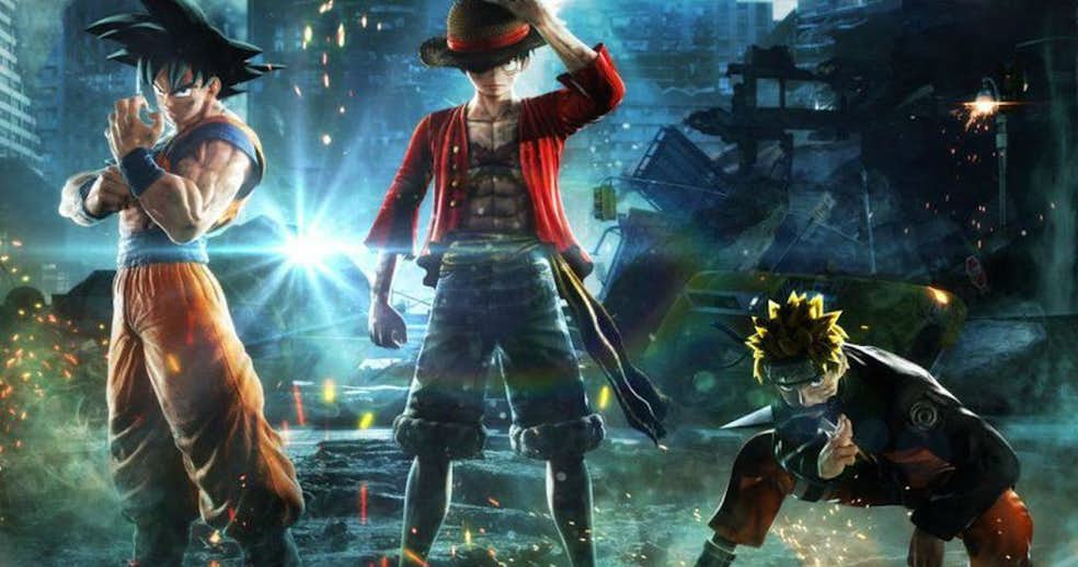 Primer trailer y gameplay de Jump Force, el mayor crossover de la historia del Anime