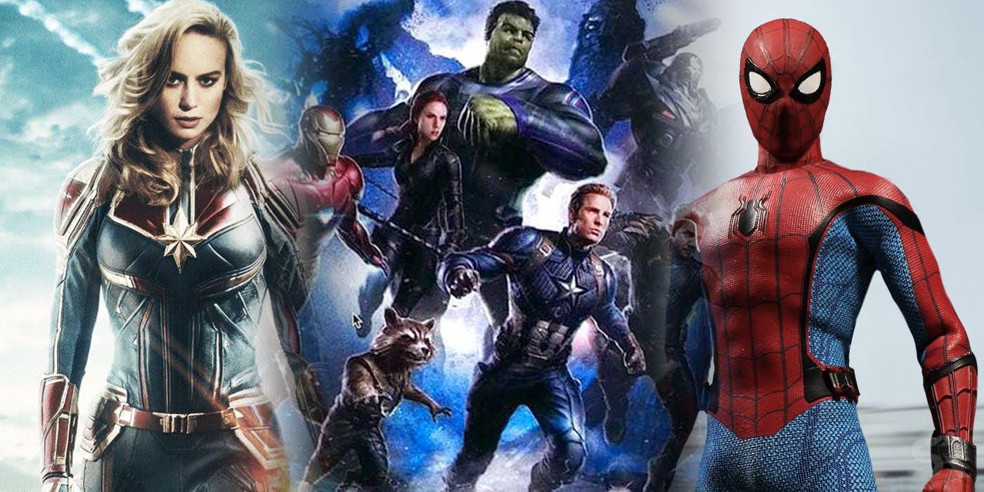 Capitan Marvel Y Los Falsos Vengadores Todo Lo Que: Filtrado Monumental SPOILER De Vengadores 4 Y El Futuro De