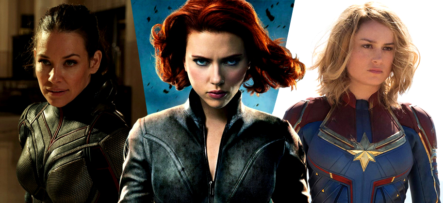 Black Widow y la Capitana Marvel conducen a las heroínas Marvel a la Invasión Secreta