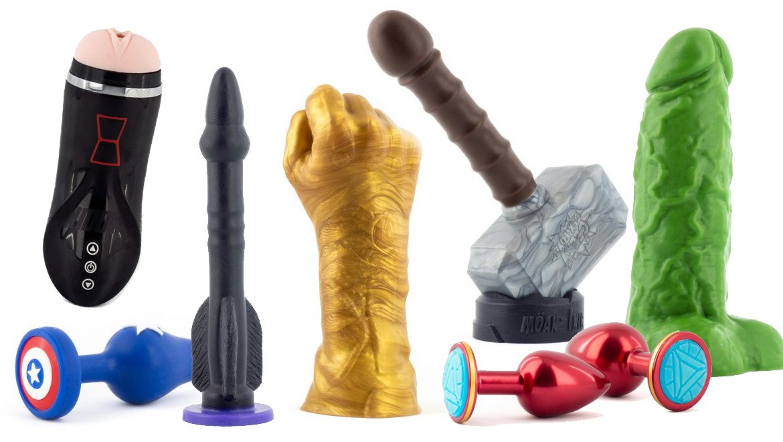 Los mejores juguetes eróticos frikis