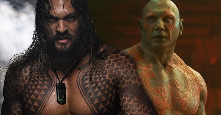 Filtered new photos of Jason Momoa as Drax in the Guardians of the Galaxy