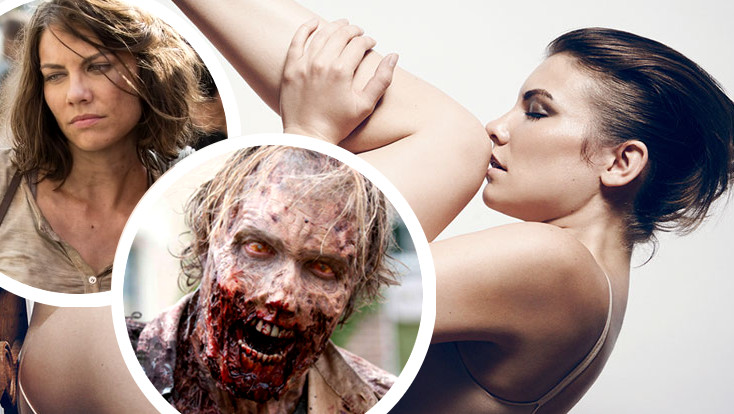 Todas las protagonistas y actrices de The Walking Dead desnudas