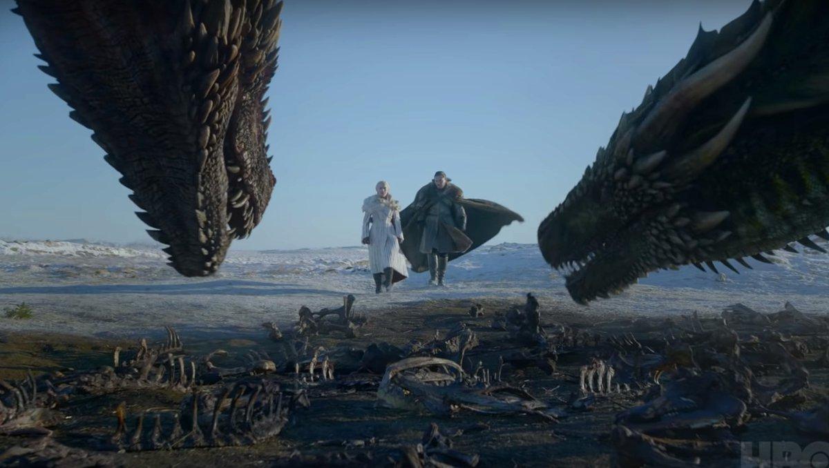 Poniente arde en el espectacular trailer de 'Juego de Tronos', la temporada final