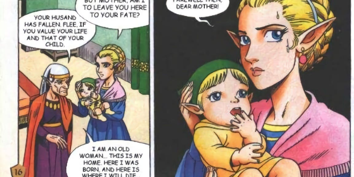 The Legend of Zelda: Ocarina of Time, 10 diferencias entre el videojuego y el manga 4