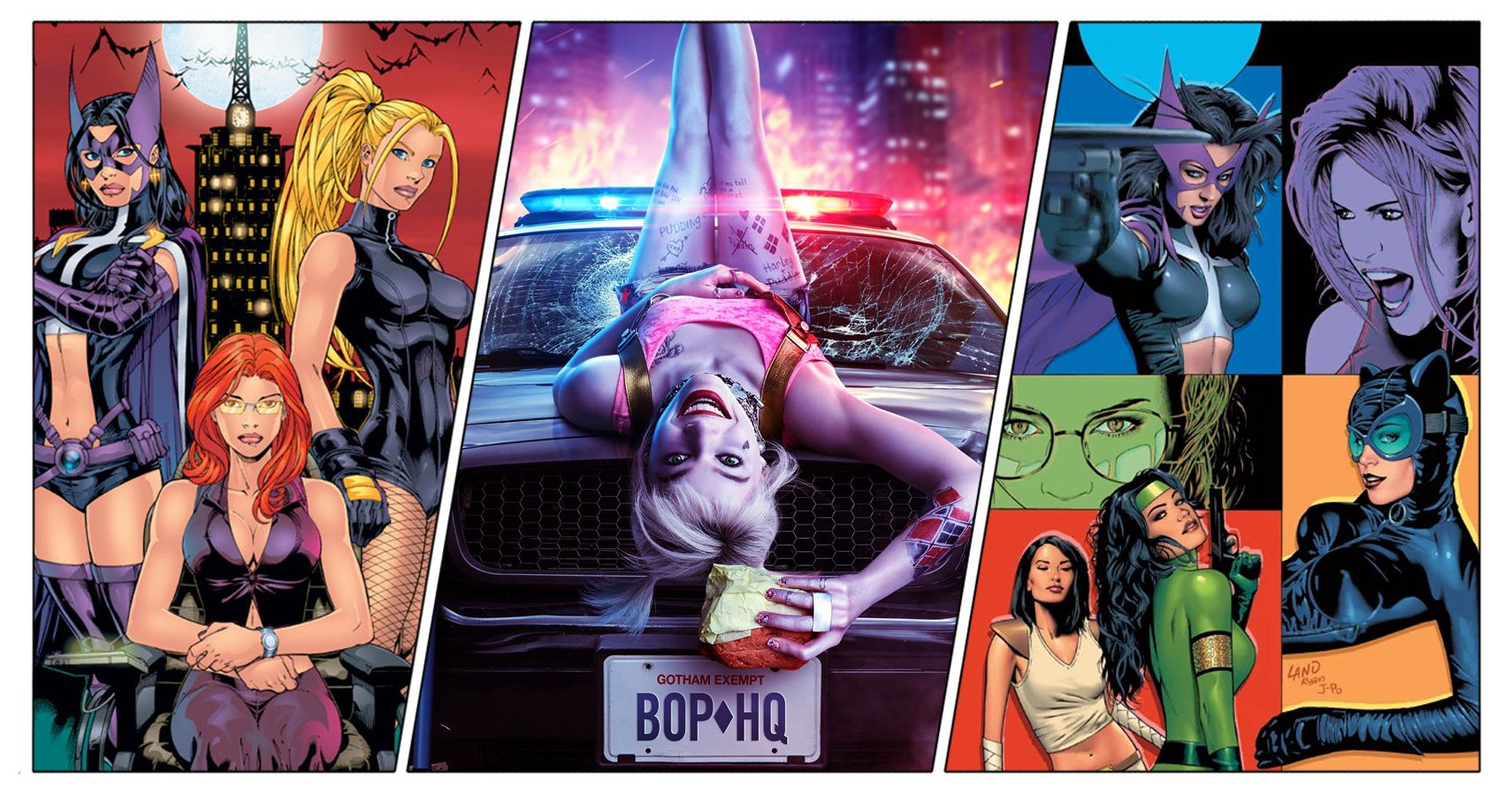 Los cómics de Birds of Prey