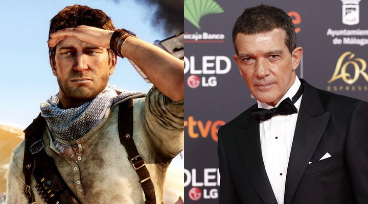 Antonio Banderas estará en Uncharted