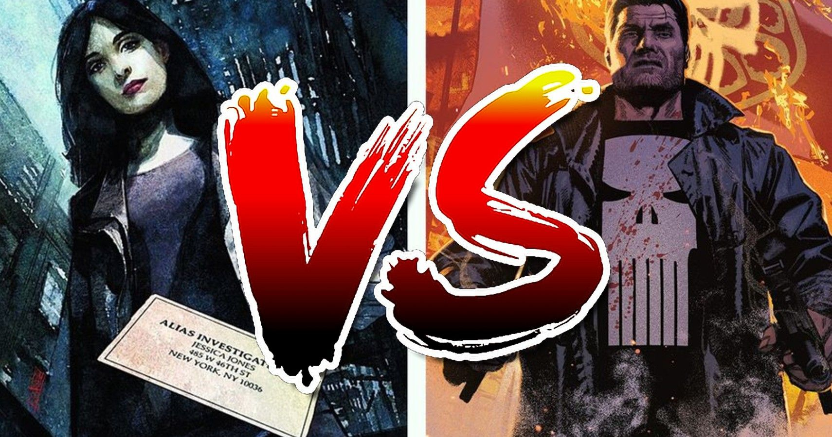 El Castigador vs Jessica Jones