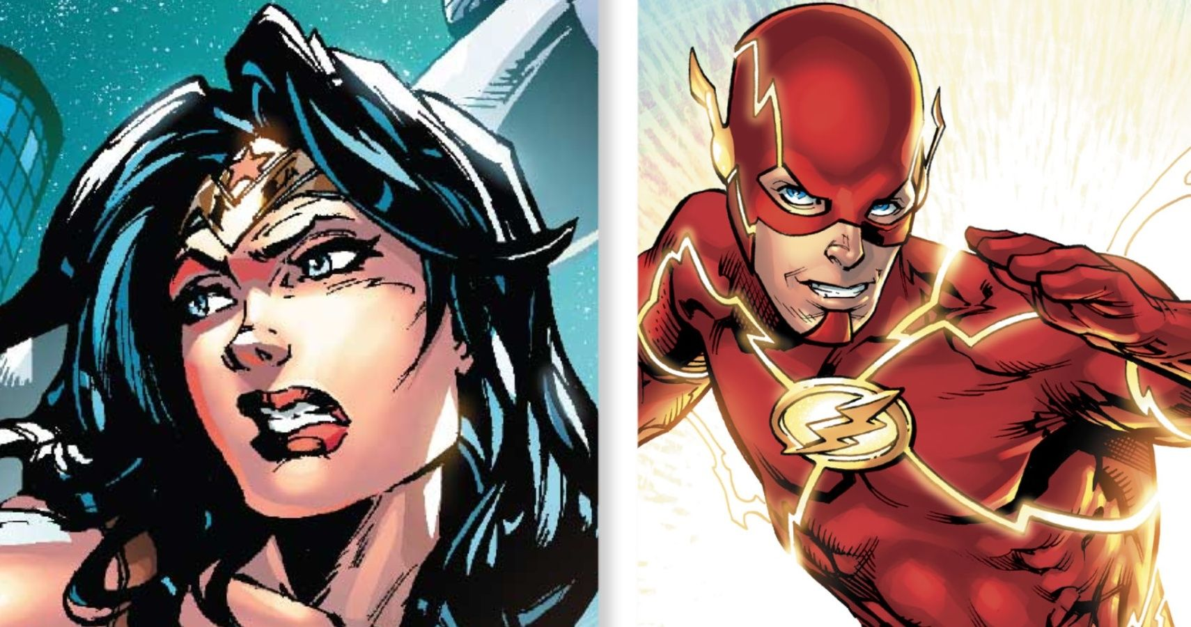 Wonder Woman vs Flash