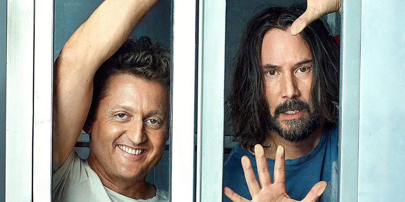 El maquillador de Bill & Ted Face the Music habla sobre los efectos especiales de Keanu Reeves