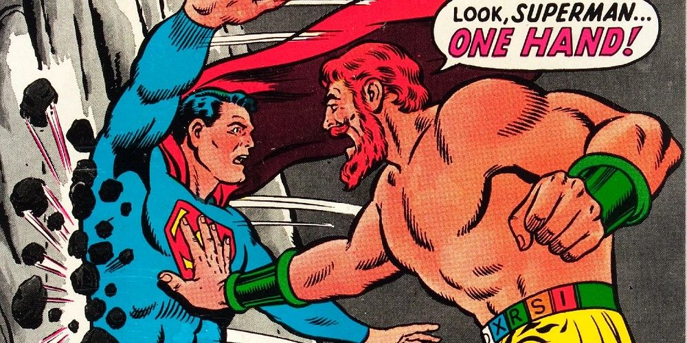 Zha-Vam, with his special belt, was created by the Gods of Olympus and is more powerful than the Man of Steel.
