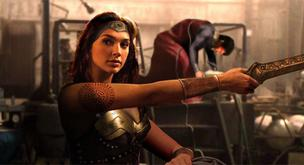 Gal Gadot en el rodaje de 'Batman Vs Superman'
