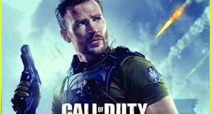 Chris Evans en 'Call of Duty' en imagen real