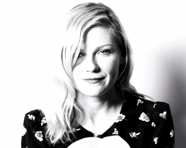 Kirsten Dunst; lau minutu kamarari begira urteko bideolan onenetako batentzat