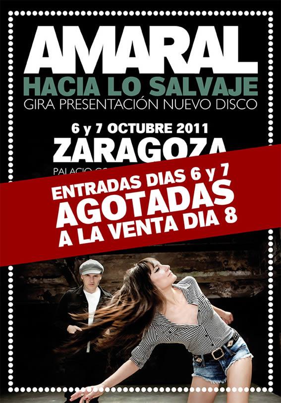 Amaral agotan las entradas para sus conciertos de Zaragoza