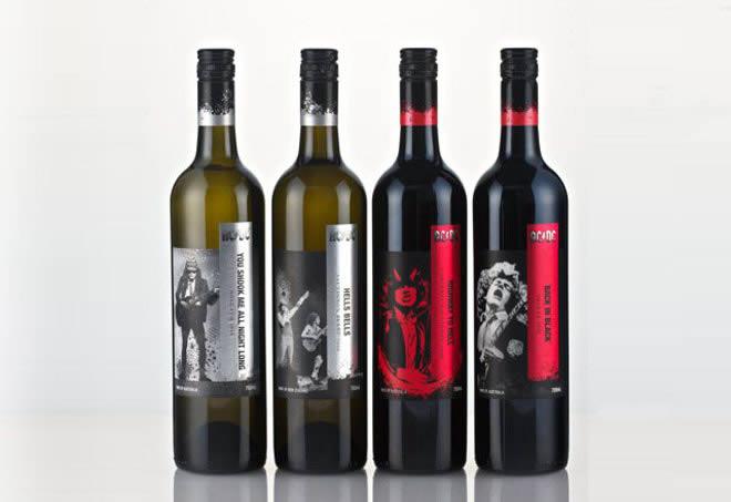 AC/DC lanzan una colección de vinos