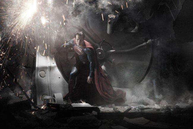'Man of Steel', primera imagen de Henry Cavill como Superman